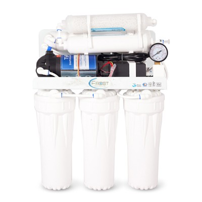 Frost 6-Stage Reverse Osmosis Water Purification System with Boosterpump