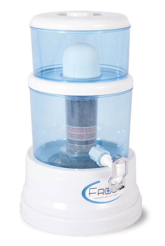Frost Mineral Pot - Portable Desktop Water Purifier