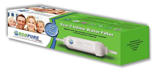 Eco-2 In-Line Water Filter